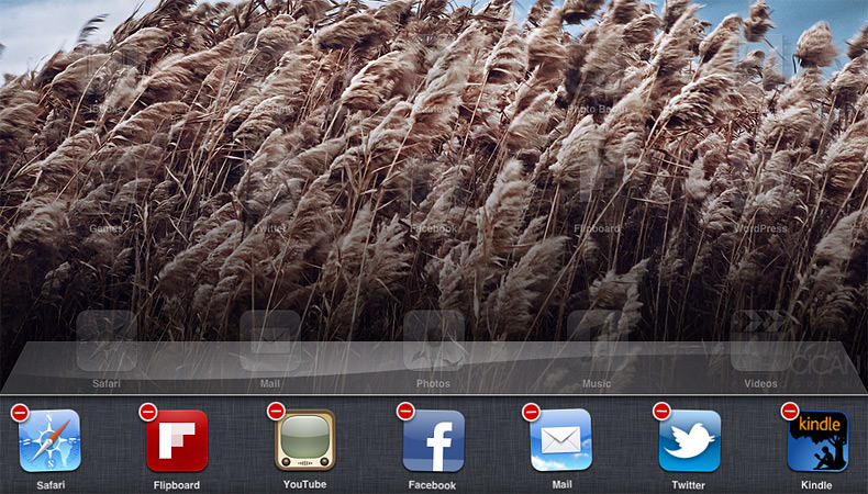 ipad background apps