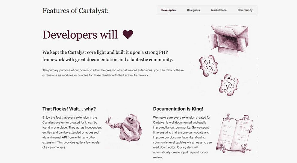 Cartalyst features